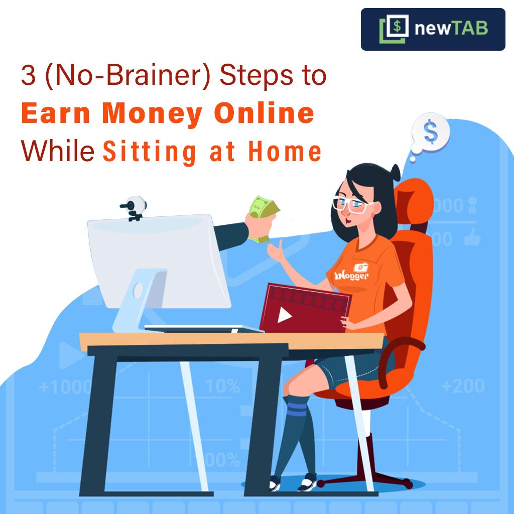 Earn Money Online - newTAB