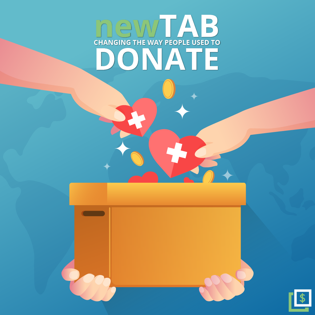 Get an Extension and Raise Money Online - newTAB