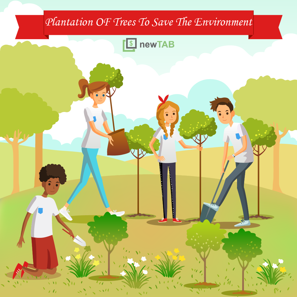 Plantation of Trees - newTAB